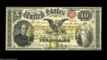 Large Size:Compound Interest Treasury Notes, Fr. 190 $10 1863 Compound Interest Treasury Note Choice VeryFine....