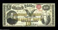 Large Size:Compound Interest Treasury Notes, Fr. 190b $10 1864 Compound Interest Treasury Note VeryFine-Extremely Fine....
