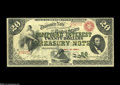 Large Size:Compound Interest Treasury Notes, Fr. 191a $20 1864 Compound Interest Treasury Note Choice VeryFine....