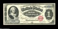 Large Size:Silver Certificates, Fr. 215 $1 1886 Silver Certificate Choice About New....