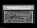 Large Size:Silver Certificates, Fr. 224 $1 1896 CGA Gem Uncirculated 65....