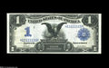 Large Size:Silver Certificates, Fr. 230 $1 1899 Silver Certificate Very Choice New....