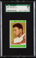 Boxing Cards:General, 1967-68 Panini Cassius Clay #451 SGC 96 Mint 9....