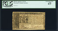 Colonial Notes:Maryland, Maryland April 10, 1774 $6 PCGS Extremely Fine 45.. ...