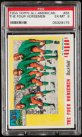 Football Cards:Singles (1950-1959), 1955 Topps All-American The Four Horsemen #68 PSA EX-MT 6....