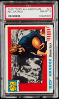 Football Cards:Singles (1950-1959), 1955 Topps All-American Red Grange #27 PSA NM-MT 8....