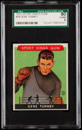 Boxing Cards:General, 1933 Sport Kings Gene Tunney #18 SGC 80 EX/NM 6....
