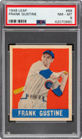 Baseball Cards:Singles (1940-1949), 1948 Leaf Frank Gustine #88 PSA NM-MT 8....