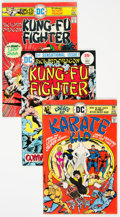 Bronze Age (1970-1979):Miscellaneous, Karate Kid and Richard Dragon Kung Fu Fighter Complete Run Group of33 (DC, 1975-78) Condition: Average VF-.... (Total: 33 )