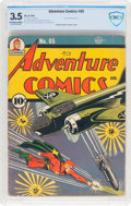 Golden Age (1938-1955):Superhero, Adventure Comics #65 (DC, 1941) CBCS VG- 3.5 Off-white to white pages....