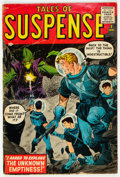 Silver Age (1956-1969):Science Fiction, Tales of Suspense #1 (Marvel, 1959) Condition: GD+....