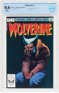Wolverine #3 (Marvel, 1982) CBCS NM 9.4 White pages
