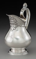 Silver & Vertu:Hollowware, A Tiffany & Co., Inc. Silver Pitcher, New York, 1891-1902. Marks: TIFFANY & CO., 12319, MAKERS, 7102, STER...
