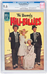 Beverly Hillbillies #7 File Copy (Dell, 1964) CGC NM+ 9.6 Off-white to white pages