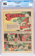 Golden Age (1938-1955):Superhero, Action Comics #16 Coverless (DC, 1939) CGC: No Grade - Off-white to white pages....