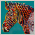 Fine Art - Work on Paper:Print, Andy Warhol (1928-1987)Grevy's Zebra,