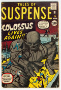 Silver Age (1956-1969):Science Fiction, Tales of Suspense #20 (Marvel, 1961) Condition: VG+....