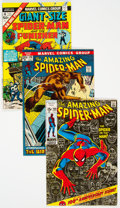 Bronze Age (1970-1979):Superhero, The Amazing Spider-Man Group of 8 (Marvel, 1968-75) Condition:Average FN+.... (Total: 8 Comic Books)