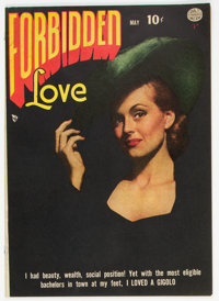 Forbidden Love #2 (Quality, 1950) Condition: FN-