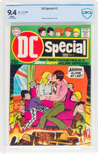 DC Special #2 (DC, 1969) CBCS NM 9.4 White pages