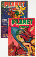 Golden Age (1938-1955):Science Fiction, Planet Comics #65 and 66 Group (Fiction House, 1951-52).... (Total: 2 )
