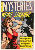 Golden Age (1938-1955):Horror, Mysteries Weird and Strange #8 (Superior Comics, 1954) Condition: VG/FN....