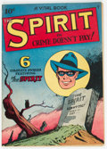 Golden Age (1938-1955):Crime, The Spirit #nn (#2) (Quality, 1945) Condition: VG/FN....