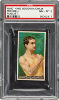 Boxing Cards:General, 1888 N162 Goodwin Champions Charley Mitchell PSA NM-MT 8 - Pop Two, None Higher....
