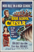"""Movie Posters:Exploitation, High School Caesar & Other Lot (Filmgroup, 1960). Folded,Overall: Very Fine-. One Sheets (2) (27"""" X 41""""). Exploitation.. ...(Total: 2 Items)"""