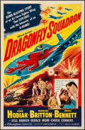 """Movie Posters:War, Dragonfly Squadron (Allied Artists, 1954). Folded, Very Fine-. One Sheet (27"""" X 41""""). War.. ..."""