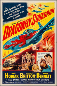 """Dragonfly Squadron (Allied Artists, 1954). Folded, Very Fine-. One Sheet (27"""" X 41""""). War"""