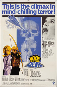 """Eye of the Devil & Other Lot (MGM, 1967). Folded, Fine/Very Fine. One Sheets (2) (27"""" X 41""""). Horror..."""