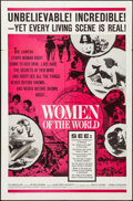 "Movie Posters:Documentary, Women of the World & Other Lot (Embassy, 1963). Folded, Very Fine-. One Sheet (27"" X 40"") & Silk Screen One Sheet (26.5"" X 4... (Total: 2 Items)"