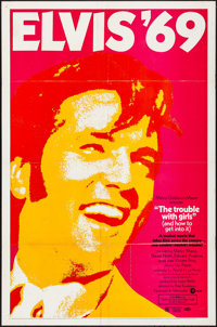 """The Trouble with Girls (MGM, 1969). Folded, Fine/Very Fine. One Sheet (27"""" X 41""""). Elvis Presley"""
