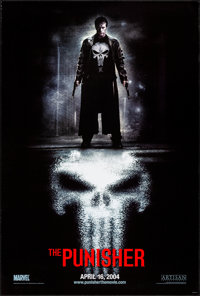 """The Punisher (Lions Gate, 2004). Rolled, Very Fine. One Sheet (26.75"""" X 39.75"""") DS Advance. Action"""