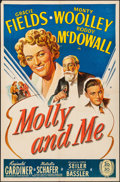 """Movie Posters:Comedy, Molly and Me (20th Century Fox, 1945). Folded, Very Fine-. OneSheet (27"""" X 41""""). Comedy.. ..."""