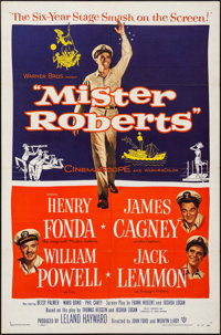"""Mister Roberts (Warner Brothers, 1955). Folded, Very Fine. One Sheet (27"""" X 41""""). Comedy"""