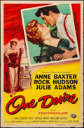 """Movie Posters:Drama, One Desire & Other Lot (Universal International, 1955). Folded, Overall: Very Fine-. One Sheets (2) (27"""" X 41"""") Roy Besser A... (Total: 2 Items)"""