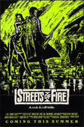 """Movie Posters:Action, Streets of Fire (Universal, 1984). Folded, Very Fine-. Day-Glo One Sheets (2) (27"""" X 41"""") Advance, 2 Styles. Action.. ... (Total: 2 Items)"""