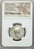 Ancients:Roman Imperial, Ancients: Domitian, as Caesar (AD 81-96). AR cistophorus (26mm,10.57 gm, 5h). NGC Choice Fine 5/5 - 4/5....