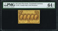Fractional Currency:First Issue, Fr. 1281 25¢ First Issue PMG Choice Uncirculated 64 EPQ.. ...