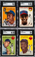 Baseball Cards:Sets, 1954 Topps Baseball Near Set (237/250)....