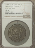 U.S. Presidents & Statesmen, (1790s) Thomas Paine Hanged / Tree of Liberty Political Penny TokenVF30 NGC. Dalton & Hamer Middlesex-209. White met...