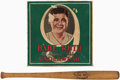 Baseball Collectibles:Others, c. 1928 Babe Ruth Underwear in Box with Mini Bat....