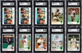 Baseball Cards:Lots, 1973 Topps Baseball High Grade Collection (1900+)....