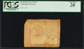 Colonial Notes:Continental Congress Issues, Continental Currency January 14, 1779 $3 PCGS Very Fine 20.. ...