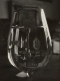 Photographs:Gelatin Silver, Josef Sudek (Czech, 1896-1976). Untitled (Wine Glass) from Pictures from my Window, circa 1968. Gelatin silver. 6-7/...