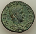 Ancients:Ancient Lots , Ancients: ANCIENT LOTS. Roman Imperial. Ca. AD 235/6-238. Lot oftwo (2) AEs. Fine-VF.... (Total: 2 coins)