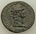 Ancients:Roman Imperial, Ancients: Domitian, as Augustus (AD 81-96). AE as (29mm, 9.73 gm, 6h). VF....