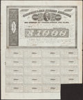 Confederate Notes:Group Lots, Ball 280 Cr. 138 $1000 Bond 1863 Fine.. ...